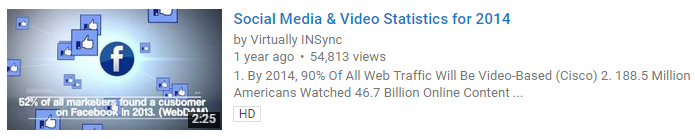 YouTube SEO Example Links