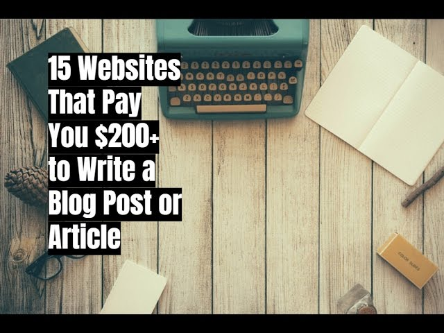websites that pays you to write Why write for free when you can get paid really well we painstakingly researched and compiled this list of 30+ genuine websites that will pay you to write.