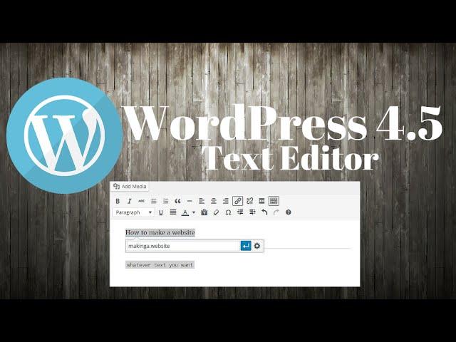 WordPress 4 5 – Inline Link and Shortcuts – WordPress Visual
